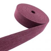 Gürtelband Jeansoptik 30mm bordeaux