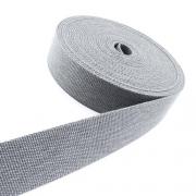 Gürtelband Jeansoptik 30mm grau