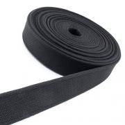 Gürtelband schwarz 40mm