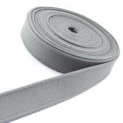 Gürtelband grau 40mm