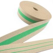 Taschengurt Gürtelband beige grün