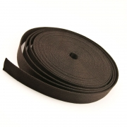 Taschengurt Gürtelband 20mm schwarzbraun