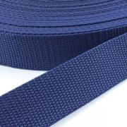 Gurtband dunkelblau 25mm