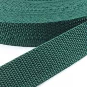 Gurtband dunkelgrün 30mm