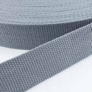 Gurtband grau 30mm