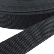 Gurtband schwarz 20mm