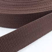 Gurtband schwarzbraun 30mm