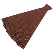 5er Pack Gurtband-Zuschnitt 30cm dunkelbraun 30mm