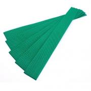 5er Pack Gurtband-Zuschnitt 30cm grün 30mm