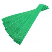 5er Pack Gurtband-Zuschnitt 30cm grasgrün 30mm