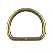 D-Ring altmessing 50 x 30mm geschweißt