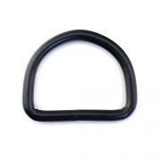 D-Ring schwarz 16 x 13mm geschweißt