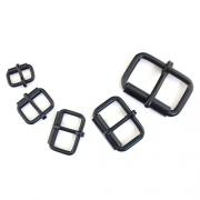 Rollschnallen Set schwarz 2 x 5 Stück