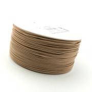 50m Hutgummi dunkelbeige 1mm