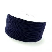 50m Hutgummi dunkelblau 1mm
