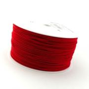 50m Hutgummi rot 1mm