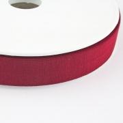 Jersey-Schrägband 20mm dunkelrot