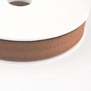 Jersey-Schrägband 20mm braun