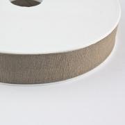 Jersey-Schrägband 20mm braungrau