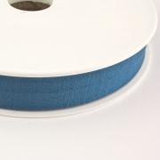 Jersey-Schrägband 20mm jeansblau