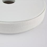 Jersey-Schrägband 20mm rohweiß