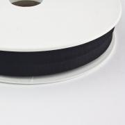 Jersey-Schrägband 20mm schwarz