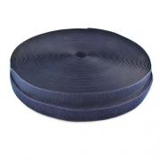 25m Klettband 20mm dunkelblau