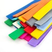 Klettband helle Farben 20mm geschnitten auf 20cm 25 Stück