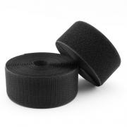 Klettband schwarz 50mm