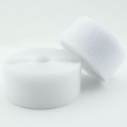 Klettband weiß 20mm Industriequalität Ökotex