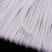 Baumwollkordel weiß 3mm