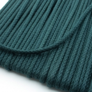 Baumwollkordel dunkelgrün 3mm