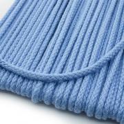 Baumwollkordel hellblau 3mm
