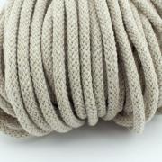 Baumwollkordel beige natur 5mm mit Kern