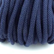 Baumwollkordel dunkelblau 5mm mit Kern