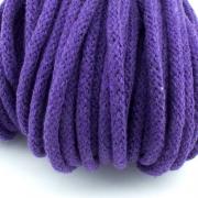 Baumwollkordel lila 5mm mit Kern