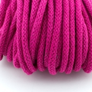 Baumwollkordel pink 5mm mit Kern