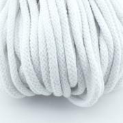 Baumwollkordel weiß 5mm mit Kern