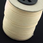50m Polyesterkordel cremeweiß 2,5mm