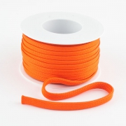 Flachkordel 10mm Polyester orange