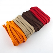 4 x 5m Flachkordel-Set 10mm Autumn glory