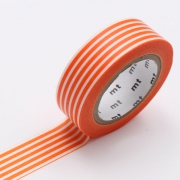10m Washi Tape 15mm Border Mikan