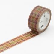 3m Wax Paper mt fab 15mm Chidori Checked