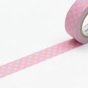 10m Washi Tape 15mm Dot Spring