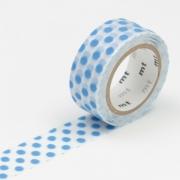 3m Flocky Tape mt fab 15mm Dot Blue
