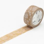 3m Wax Paper mt fab 15mm Flower Motif