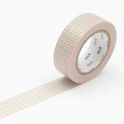 10m Washi Tape 15mm Hougan Aqua x Mikan