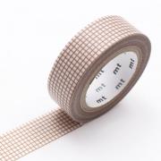10m Washi Tape 15mm Hougan Milk Mocha