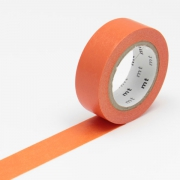 10m Washi Tape 15mm Salmon Ninjin