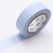 10m Washi Tape 15mm Pastel Blue